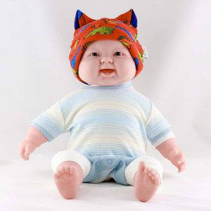 BABY HAT DINOSAUR RED by LITTLE COMFORT™