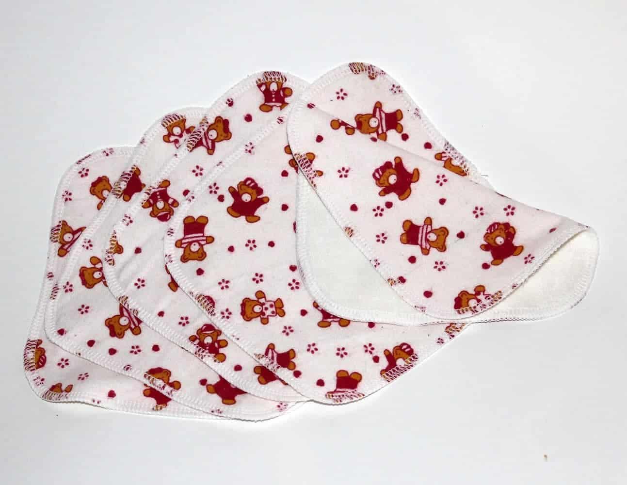 9076e86d753321 Washable Flannel Cotton Cloth Wipes | Little Comfort™